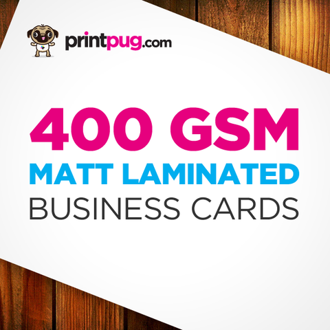 Business Cards - 400gsm Matt Laminated