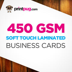 Business Cards - 450gsm Soft Touch Laminated