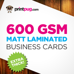 Business Cards - 600gsm Matt Laminated