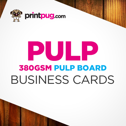 Business Cards - Pulp Board