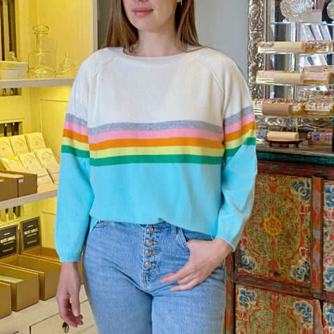 rainbow sweat jumper