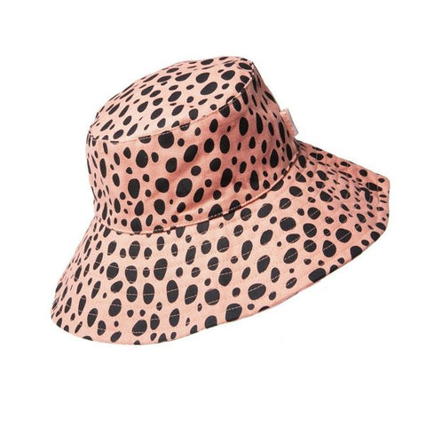 Cheetah Floppy Hat