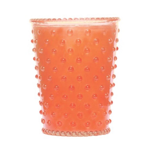 Hobnail Candle Guava
