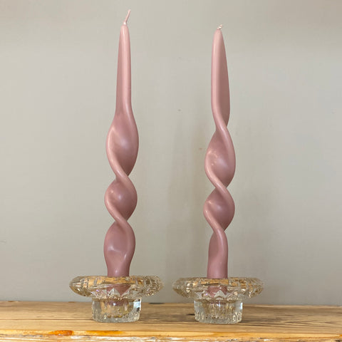 Double Twist Candle