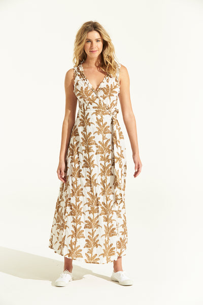 Sunshine Wrap Dress