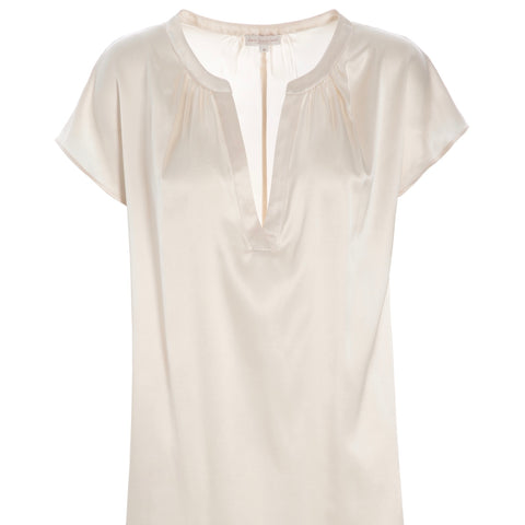ann silk top