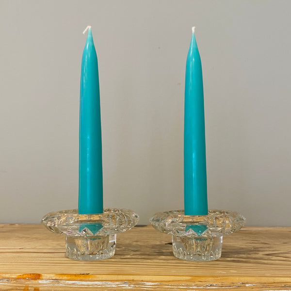 Set of 2 Taper Candles 20cm