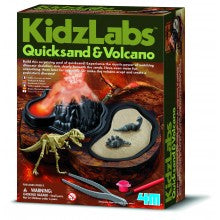 quicksand and volcano kit