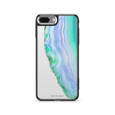 Agate Slice - Slate iPhone Case