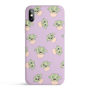 Kawaii Cactus iPhone Case