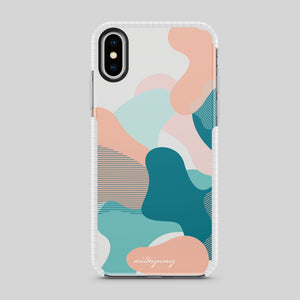 Tough Bumper iPhone Case - Tropical Breeze