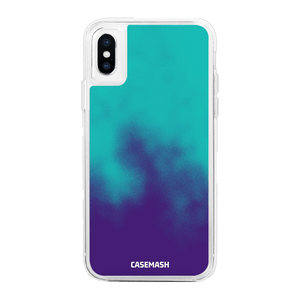 Blue/Purple Casemash iPhone Case