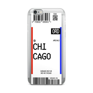 Chicago Luggage Tag Case