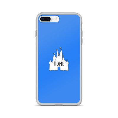 Blue Home iPhone Case
