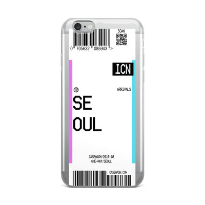 Seoul Luggage Tag Case