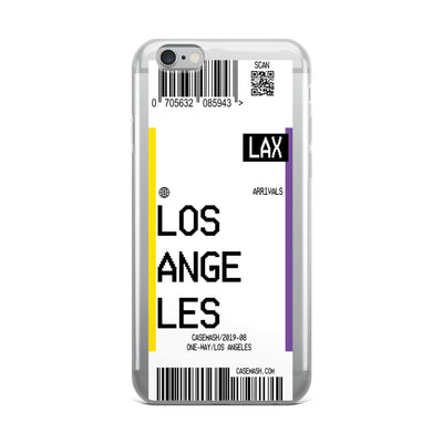 Los Angeles Luggage Tag Case