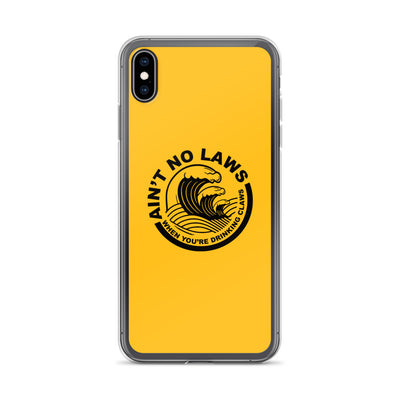 Mango Ain't No Laws iPhone Case
