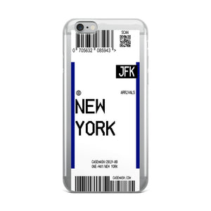 New York Luggage Tag Case
