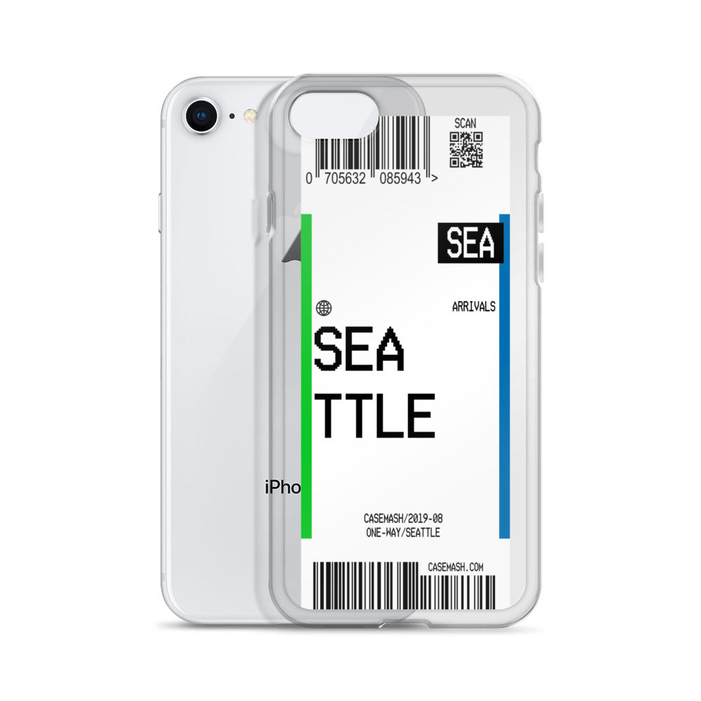 Seattle Luggage Tag Case