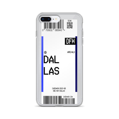 Dallas Luggage Tag Case
