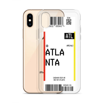 Atlanta Luggage Tag Case