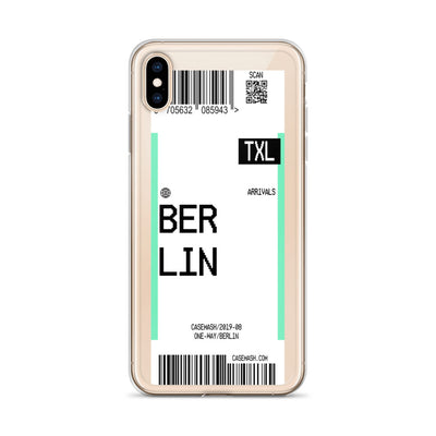 Berlin Luggage Tag Case