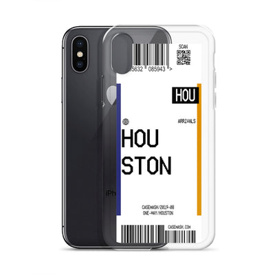 Houston Luggage Tag Case