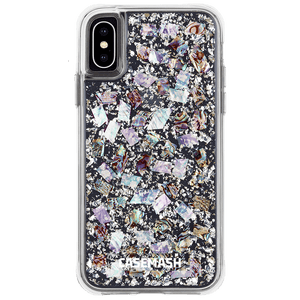 24 Karat Silver/Seashell Casemash iPhone Case