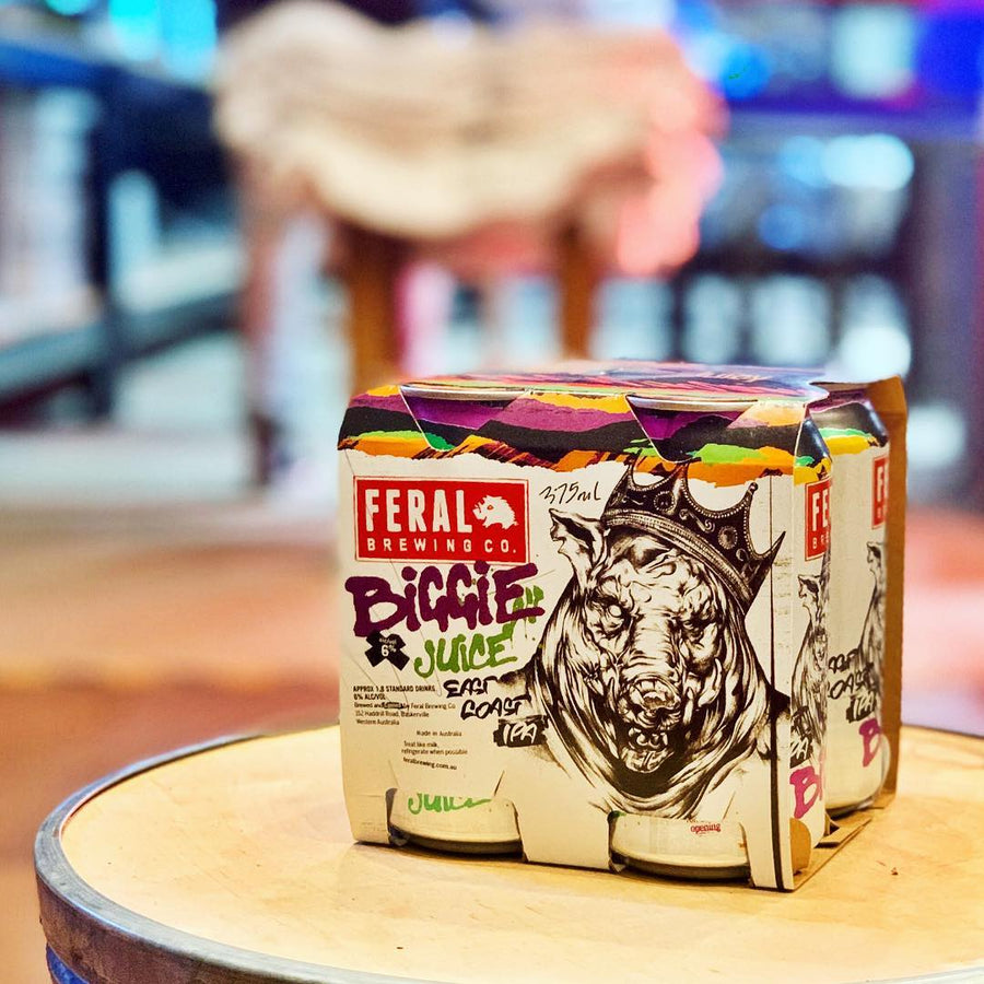 Biggie Juice East Coast New England IPA Feral Brewing Co.- Craft Delivery Thailand