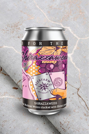 Shirrazzaweisse Shiraz Beerfarm- Craft Delivery Thailand