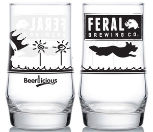 Feral Brewing Glass Glass Craft Delivery Thailand- Craft Delivery Thailand