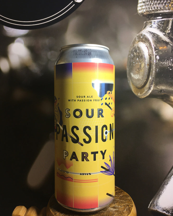 Sour Passion Party Sour Stamm- Craft Delivery Thailand