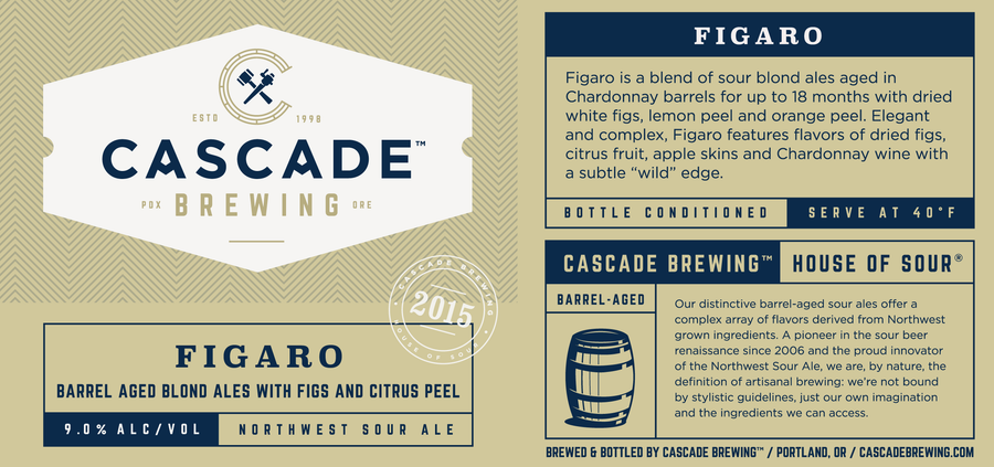 Figaro | 2015 Sour Cascade Brewing- Craft Delivery Thailand