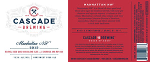 Manhattan NW | 2015 Sour Cascade Brewing- Craft Delivery Thailand