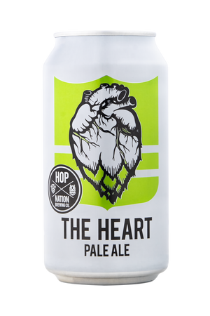 The Heart Pale Ale Hop Nation- Beerlicious