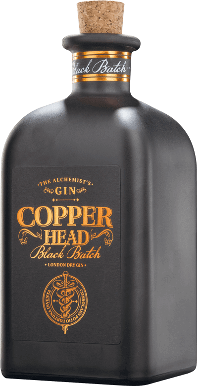 Black Batch Gin Copperhead Gin- Craft Delivery Thailand