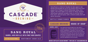 Sang Royal | 2016 Sour Cascade Brewing- Craft Delivery Thailand
