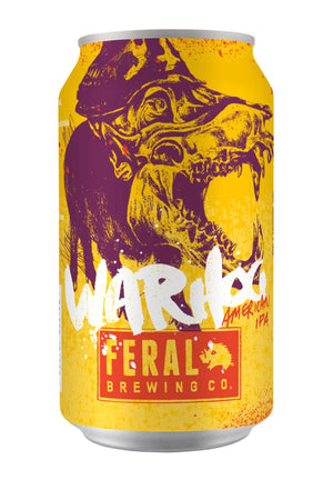 War Hog American India Pale Ale Feral Brewing Co.- Beerlicious