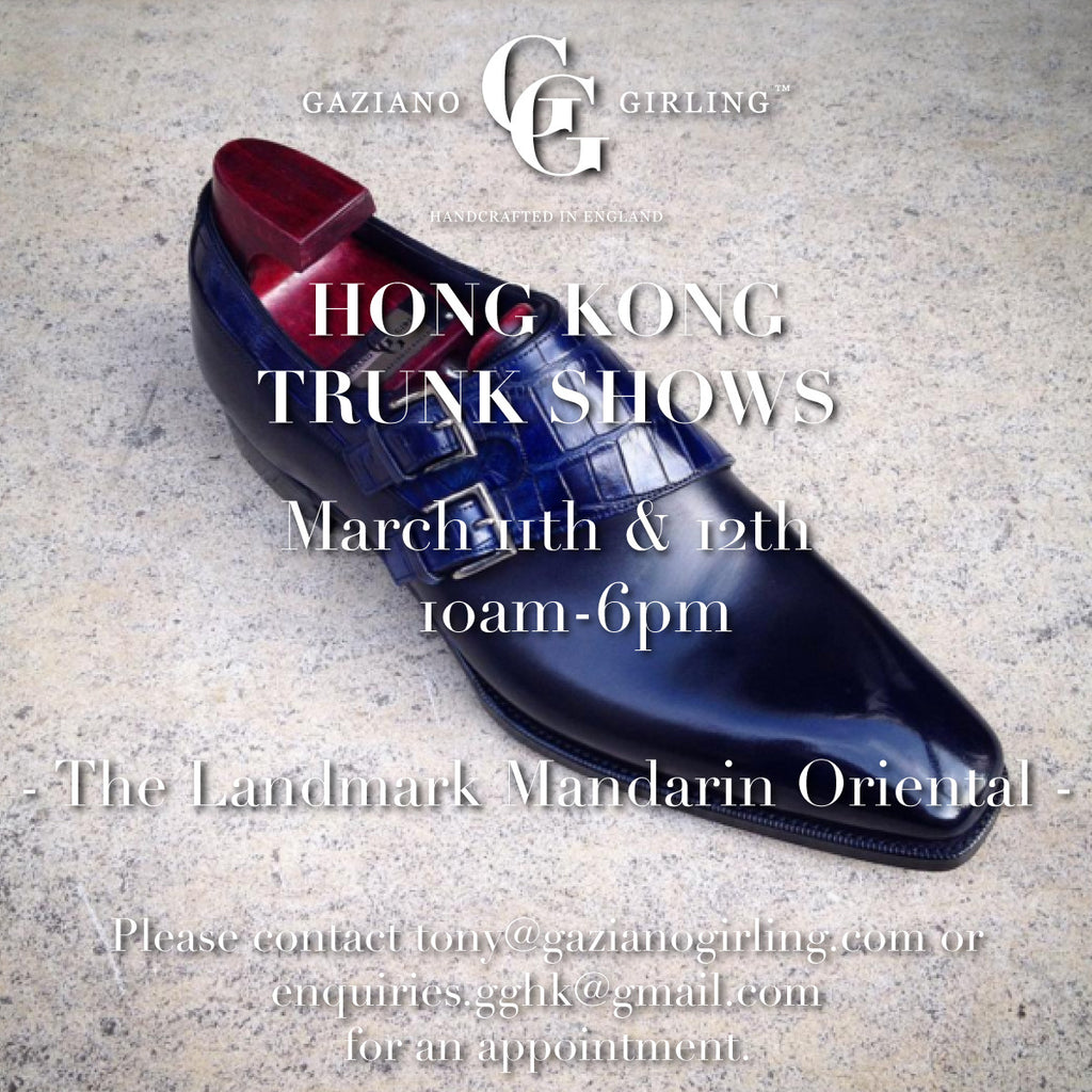 Trunk Show - Hong Kong - March 2016