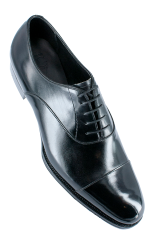 """Oxford"" in Black Calf - GG06"