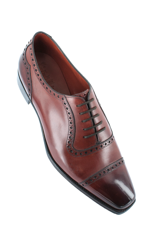 """St James II"" in Vintage Cherry Calf - TG73"