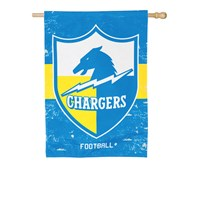 LOS ANGELES CHARGERS VINTAGE LINEN HOUSE FLAG