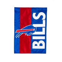 BUFFALO BILLS EMBELLISHED GARDEN FLAG