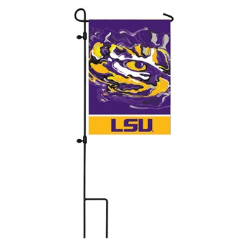LSU, Garden Flag by Justin Patten