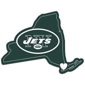New York Jets Home State Decal
