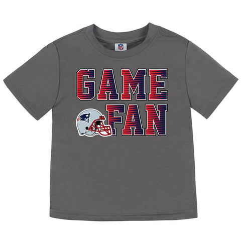 New England Patriots Boys Short Sleeve Tee Shirt 4T