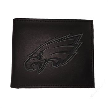 Philadelphia Eagles Black Bi-Fold Wallet