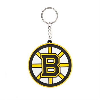 Boston Bruins  Rubber Keychain