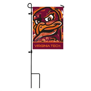 Virginia Tech, Garden Flag by Justin Patten