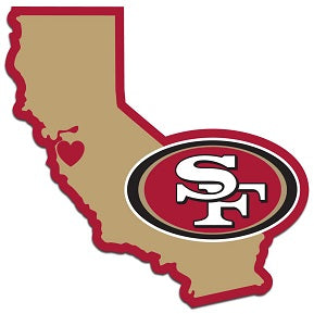San Francisco 49ers Home State Decal